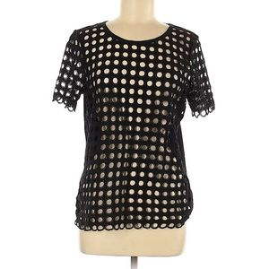 Intimissimi circle cut out short sleeve bl…